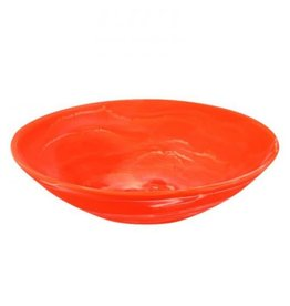 Everyday Medium Bowl with Servers Set Apricot Swirl