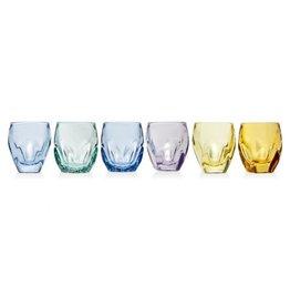 Stockholm (set 6) 1.5 oz Color Shot Glass