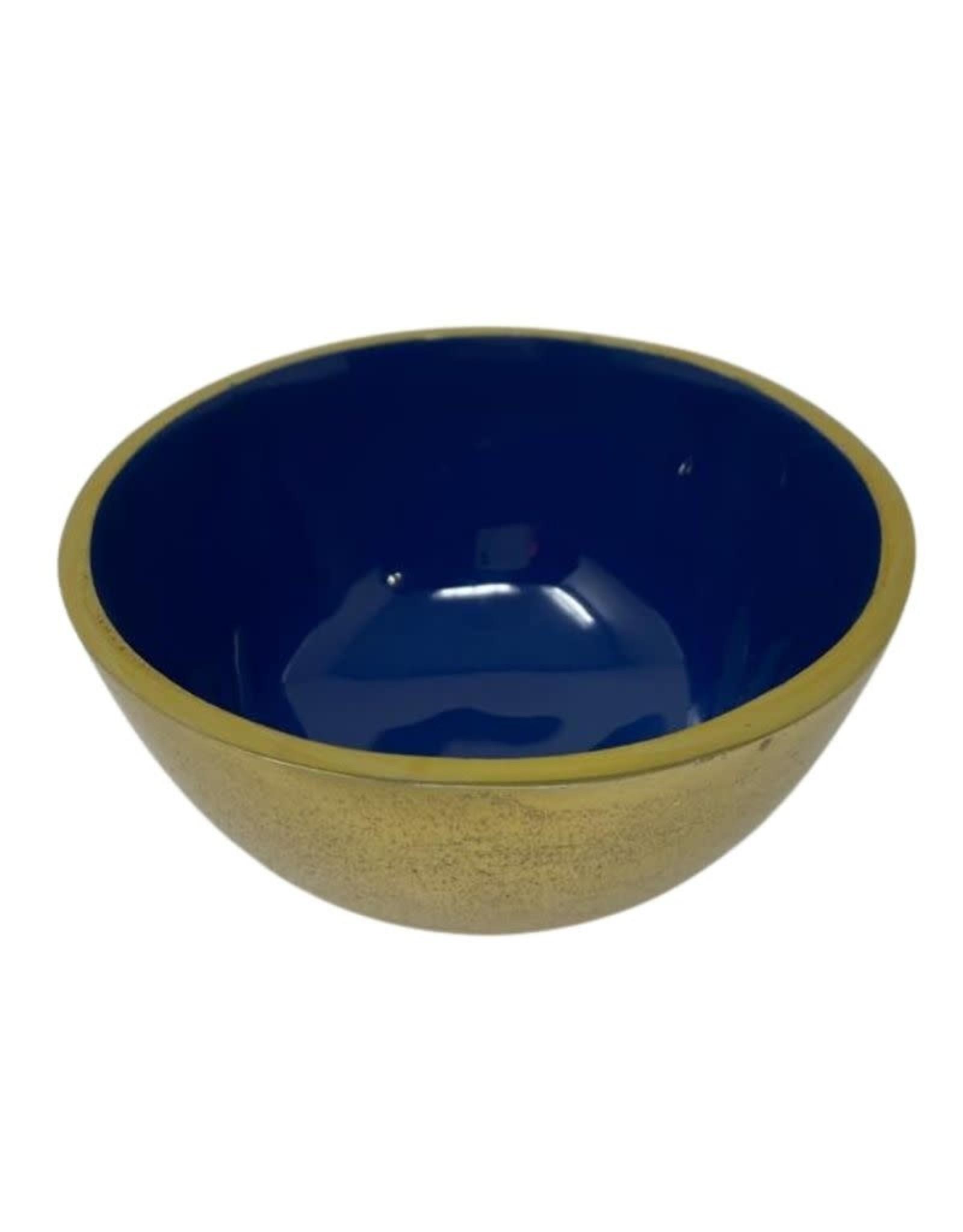Ceramic Bowl, Assorted/Gold