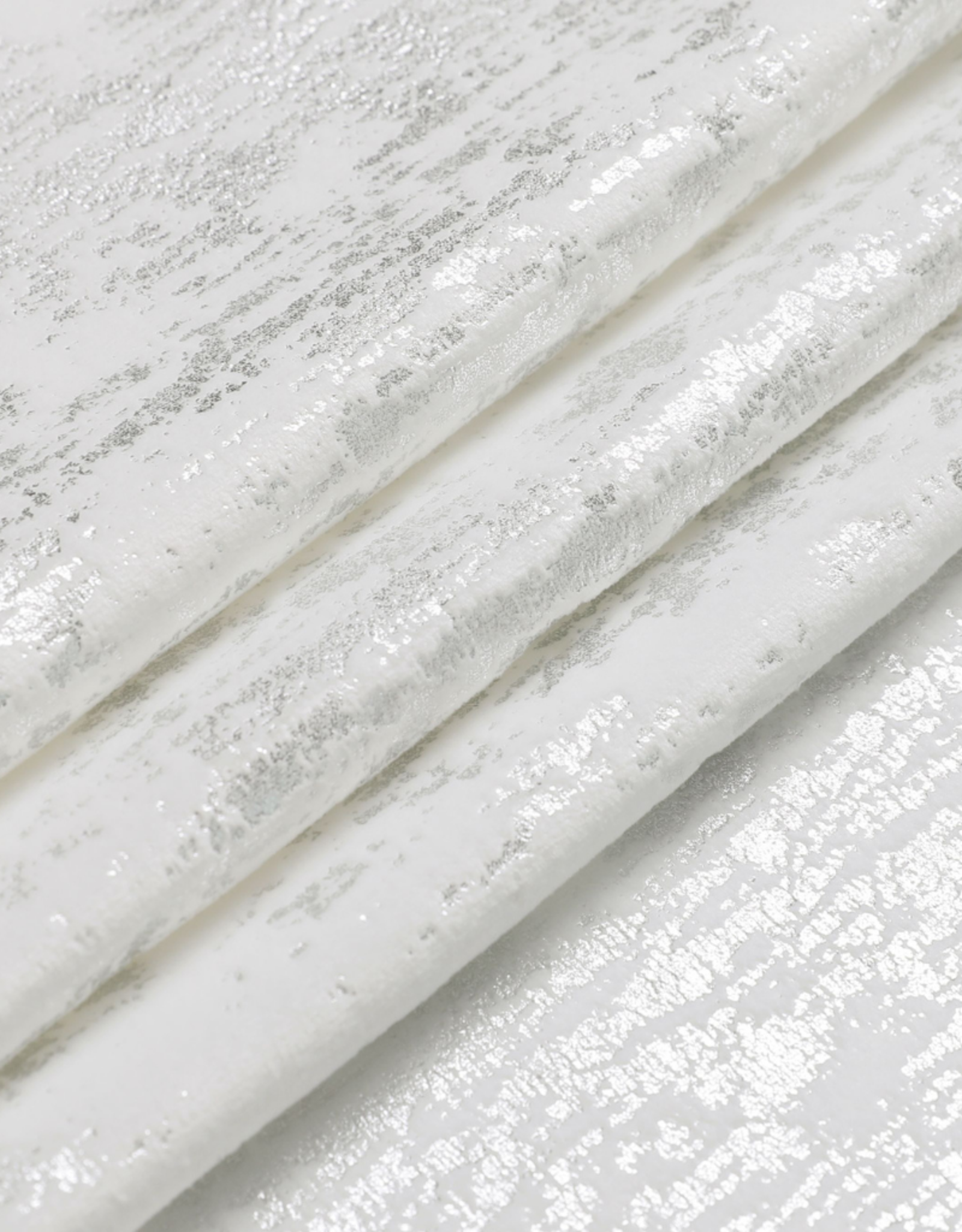 Velvet Silver & White Mosaic Tablecloth #1403