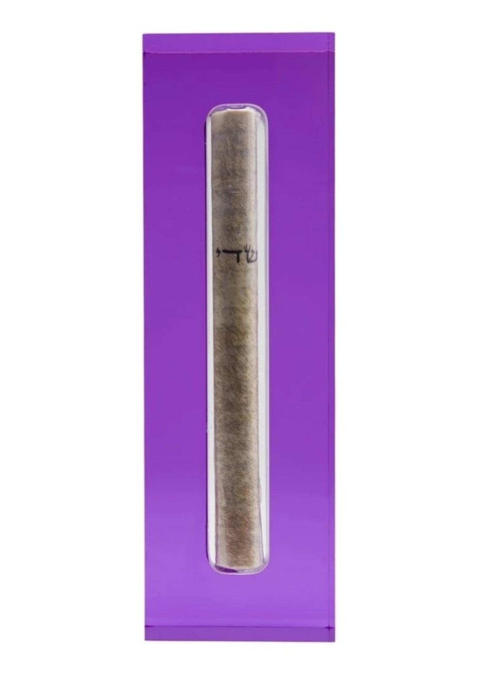 Mezuzah Medium Violet