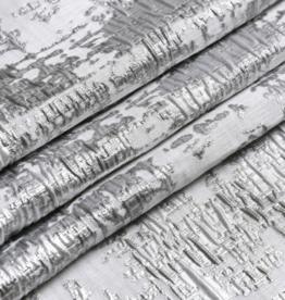 Jacquard Silver Mosaic Tablecloth #1308