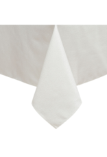 Jacquard White Silver Tablecloth #1326