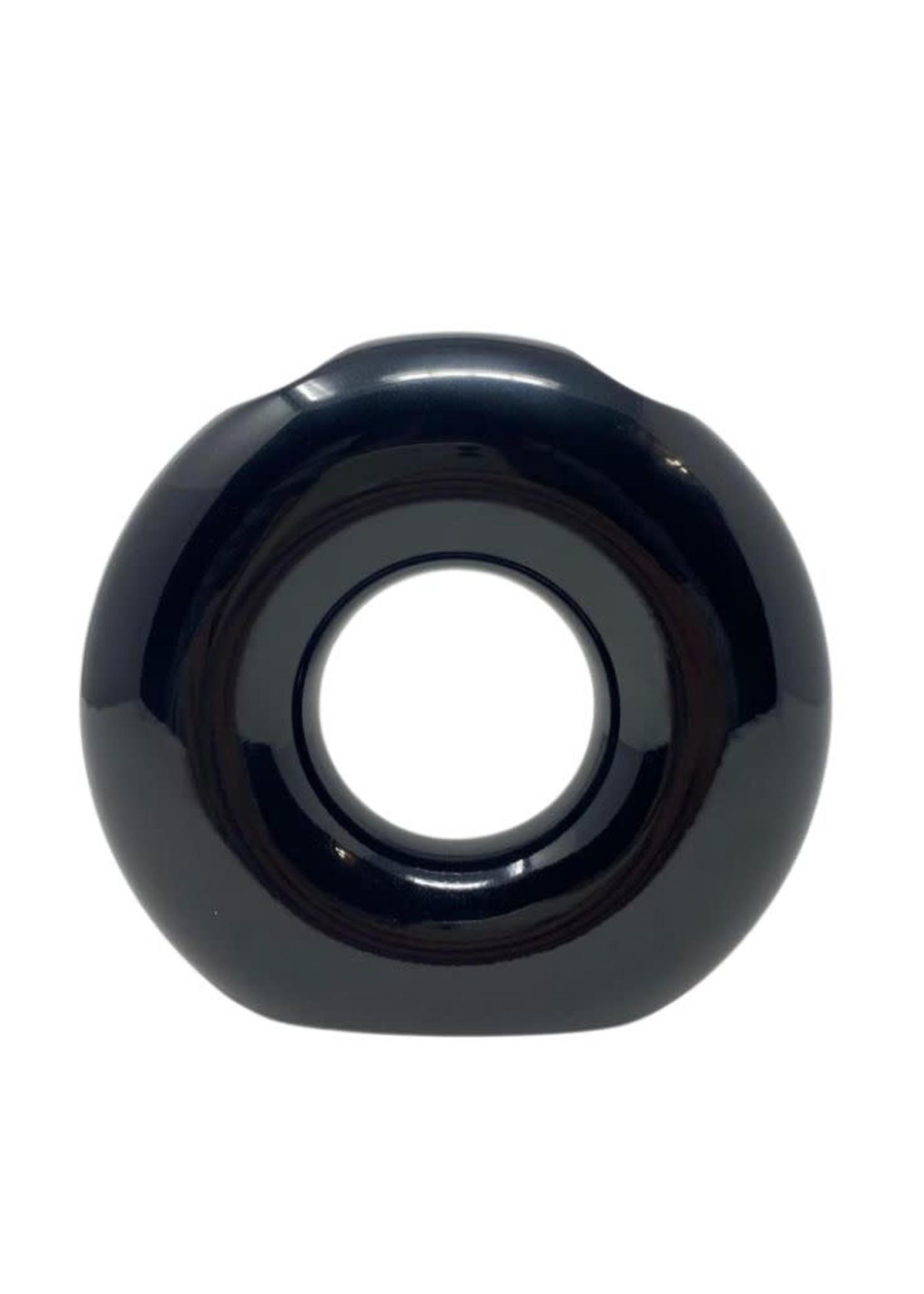 O Washing Cup | Vase Black 1000