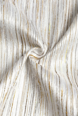 Jacquard Metallic Striped Tablecloth #1313
