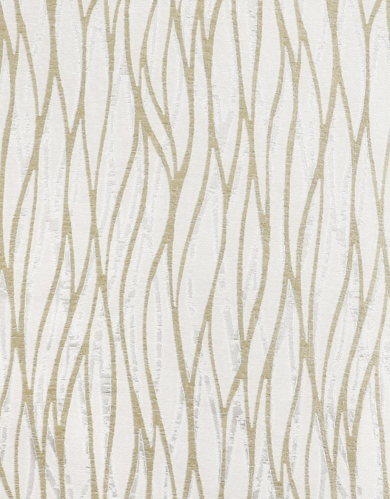 Jacquard Tablecloth White/Silver/Gold TC1318
