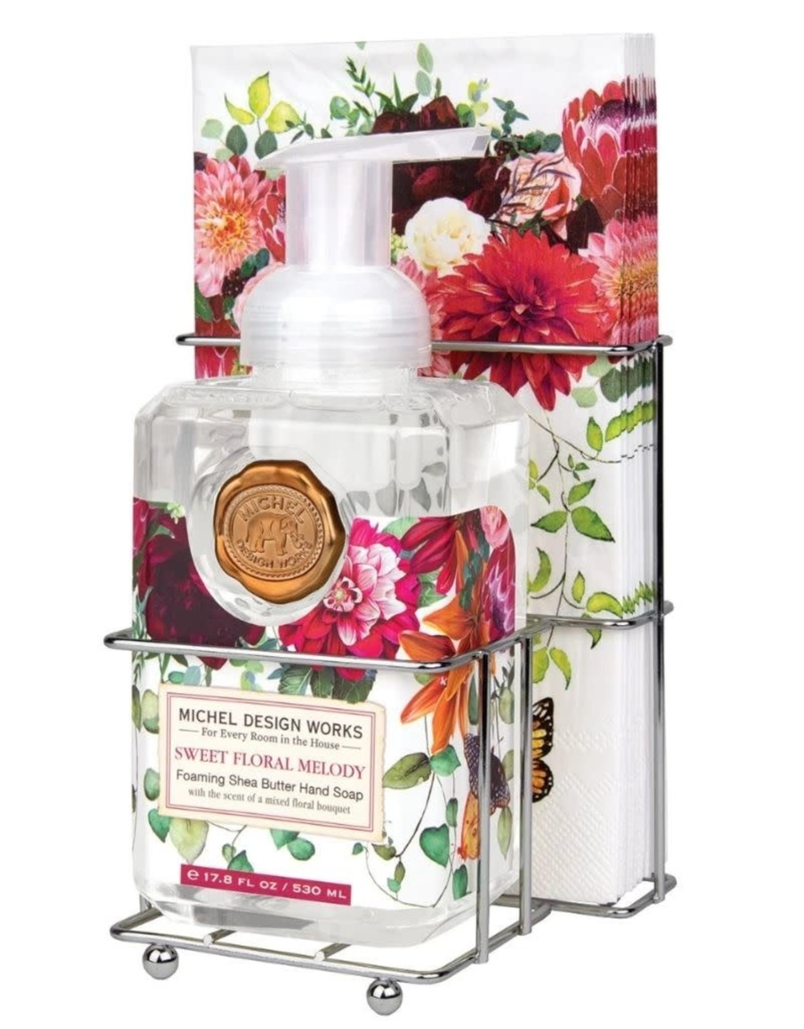 Sweet Floral Melody Foaming Soap Napkin Set
