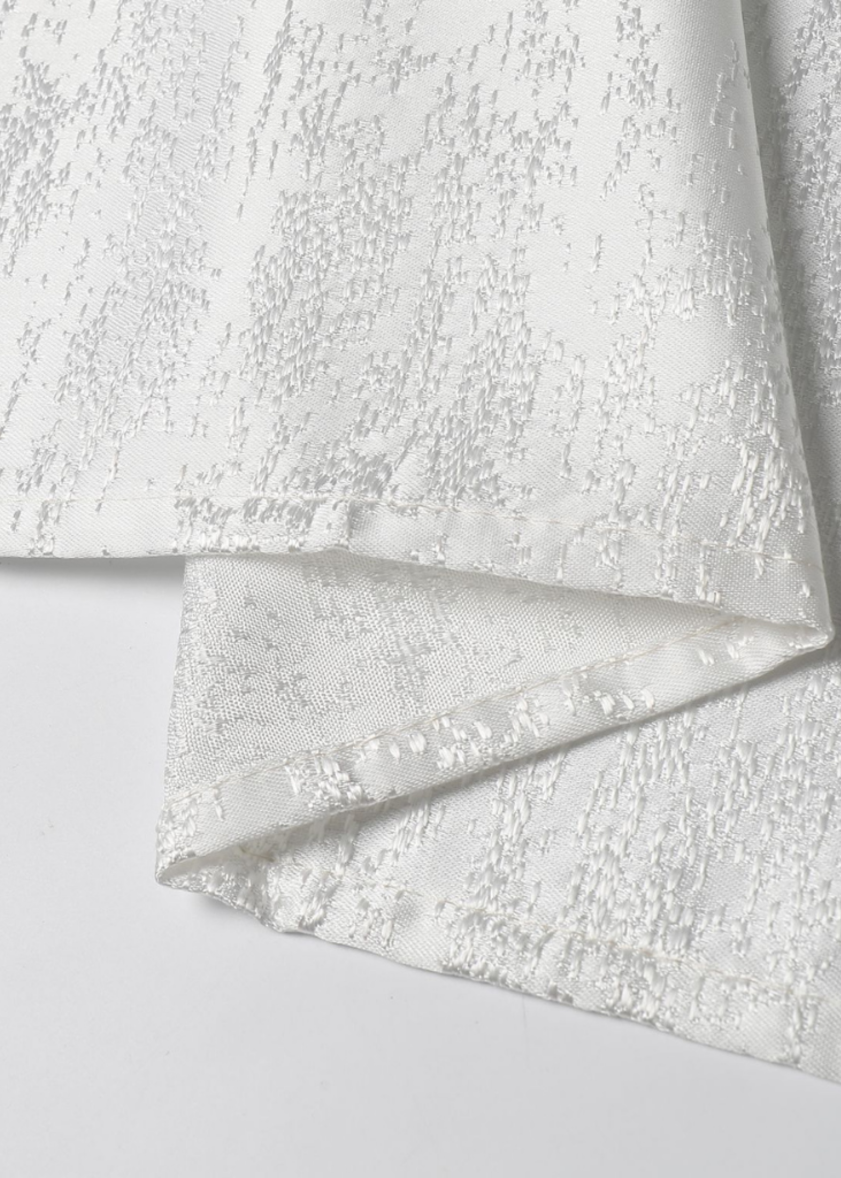 Jacquard Off White Tablecloth #TC1324
