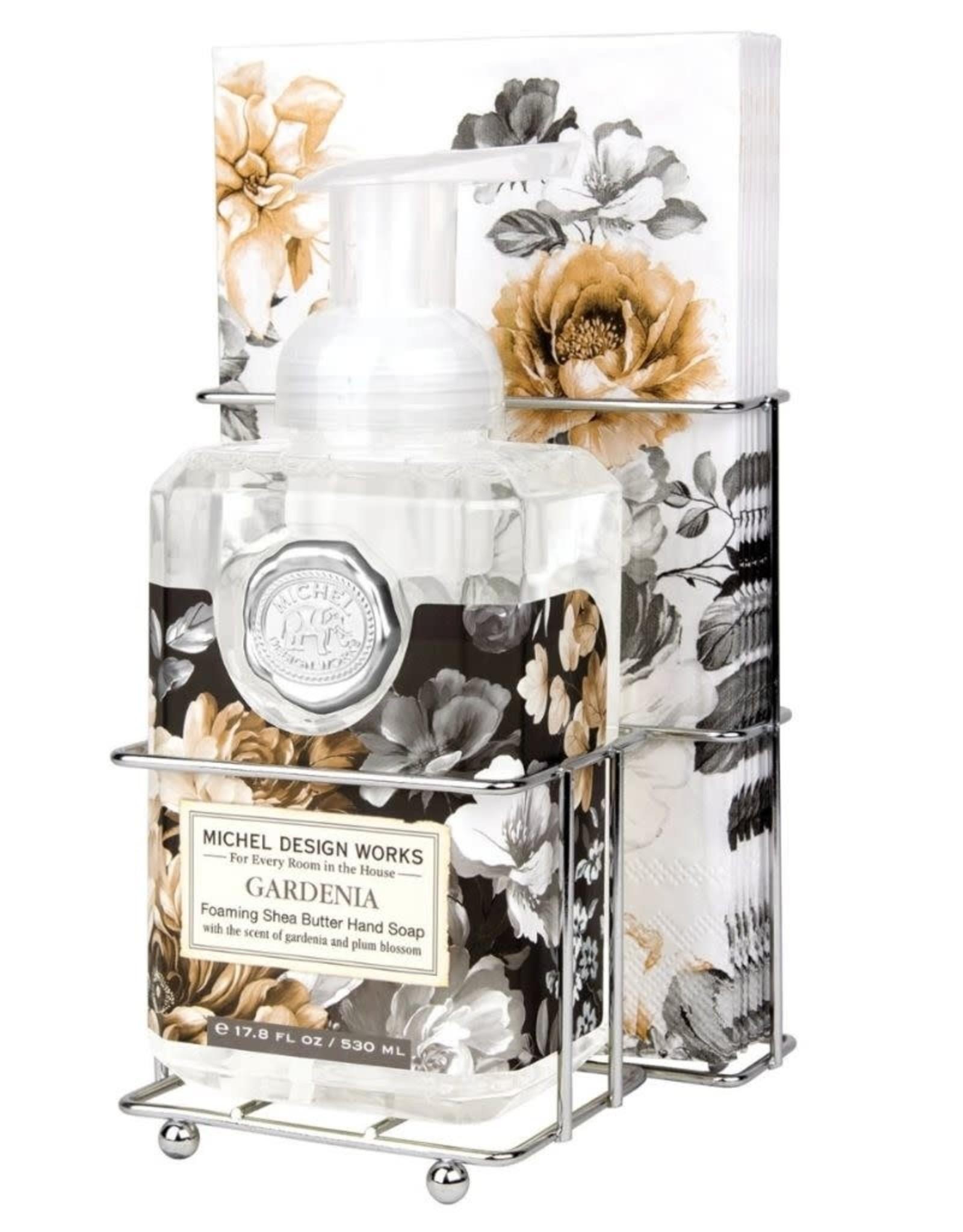 Gardenia Foaming Soap Napkin Set