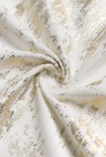 Velvet & Gold Mosaic Print Tablecloth #1402