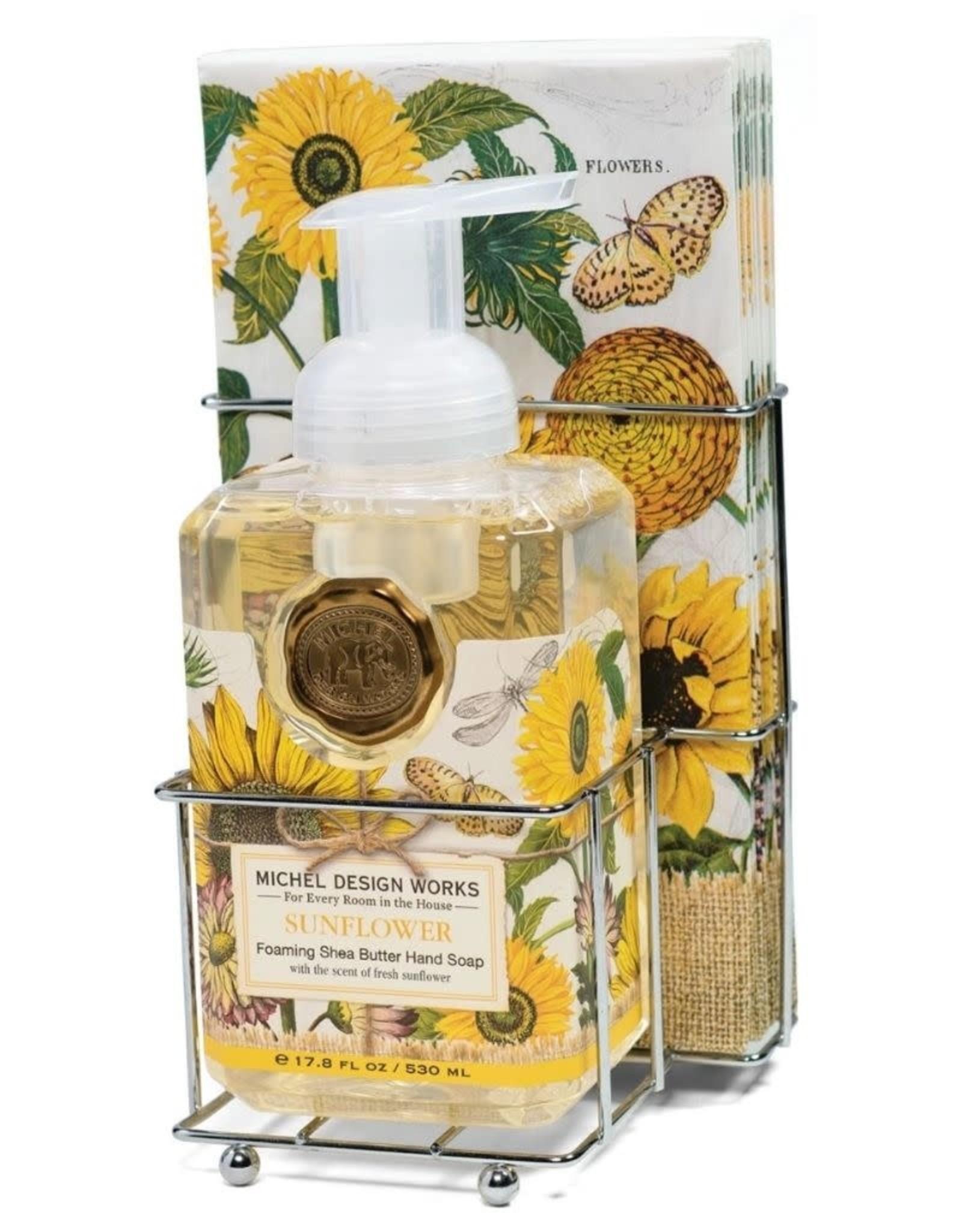Sunflower Foaming Soap Napkin Set