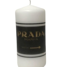 Haute Candle Prada Sign
