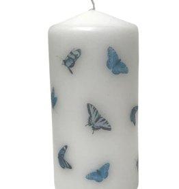 Haute Candles Blue Butterflies