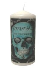 Haute Candle Tiffany Skull