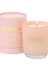 Flowers Petite Glass Jar Candle