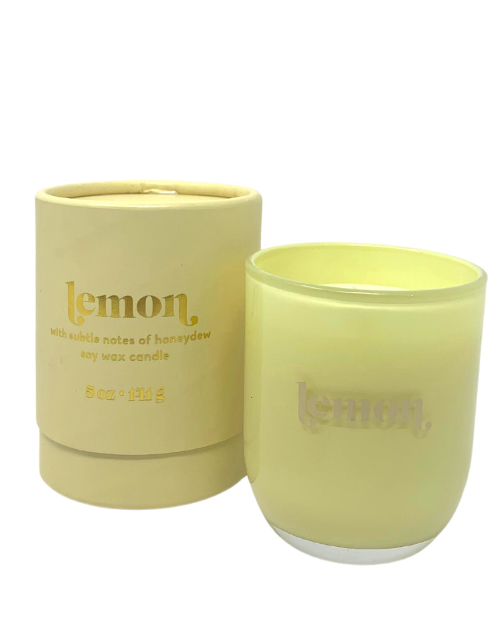 Meyer Lemon Petite Glass Jar Candle