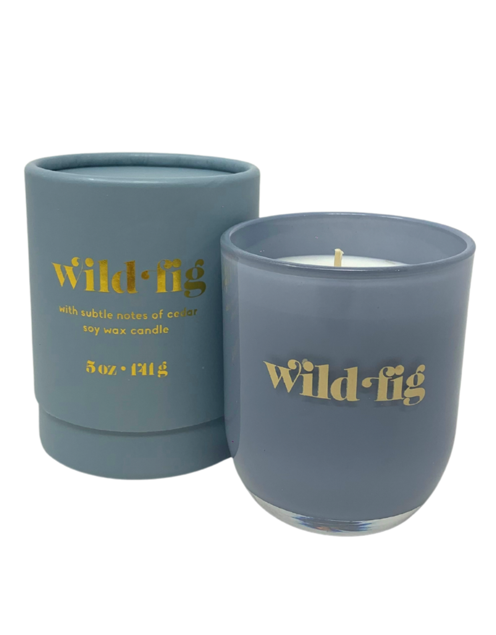 Wild Fig Petite Glass Jar Candle