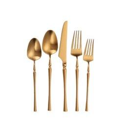 Irene Full Gold Flatware 20 pc Set