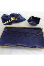 Pampa Bay Rectangular Platter BLUE