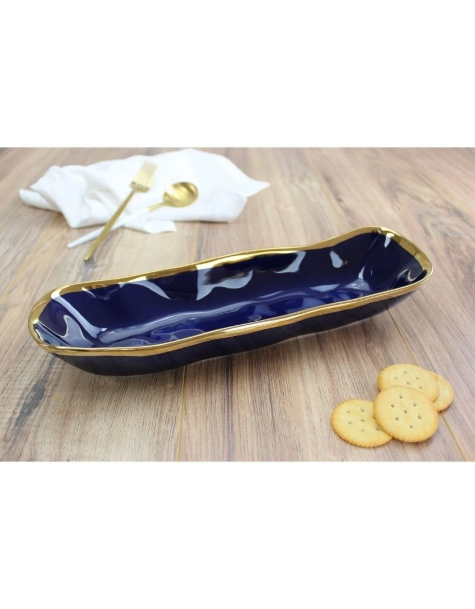 Pampa Bay Bread Tray BLUE