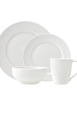 Pique 16 Piece Dinnerware Setting