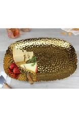 Extra Large Gold Serving Platter