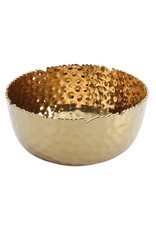 Large Round Bowl- Gold