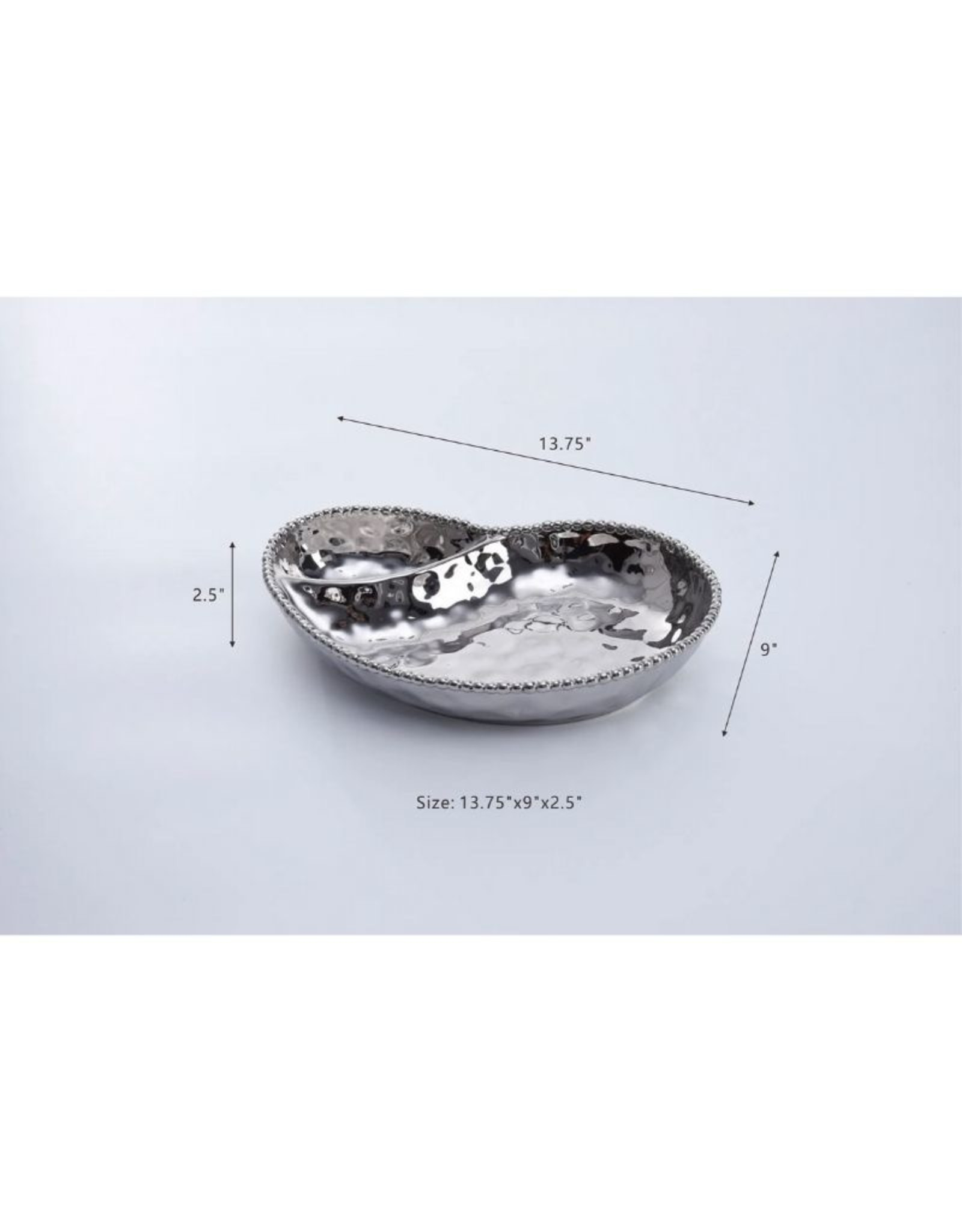 Barbagallo 2 Section Serving Piece