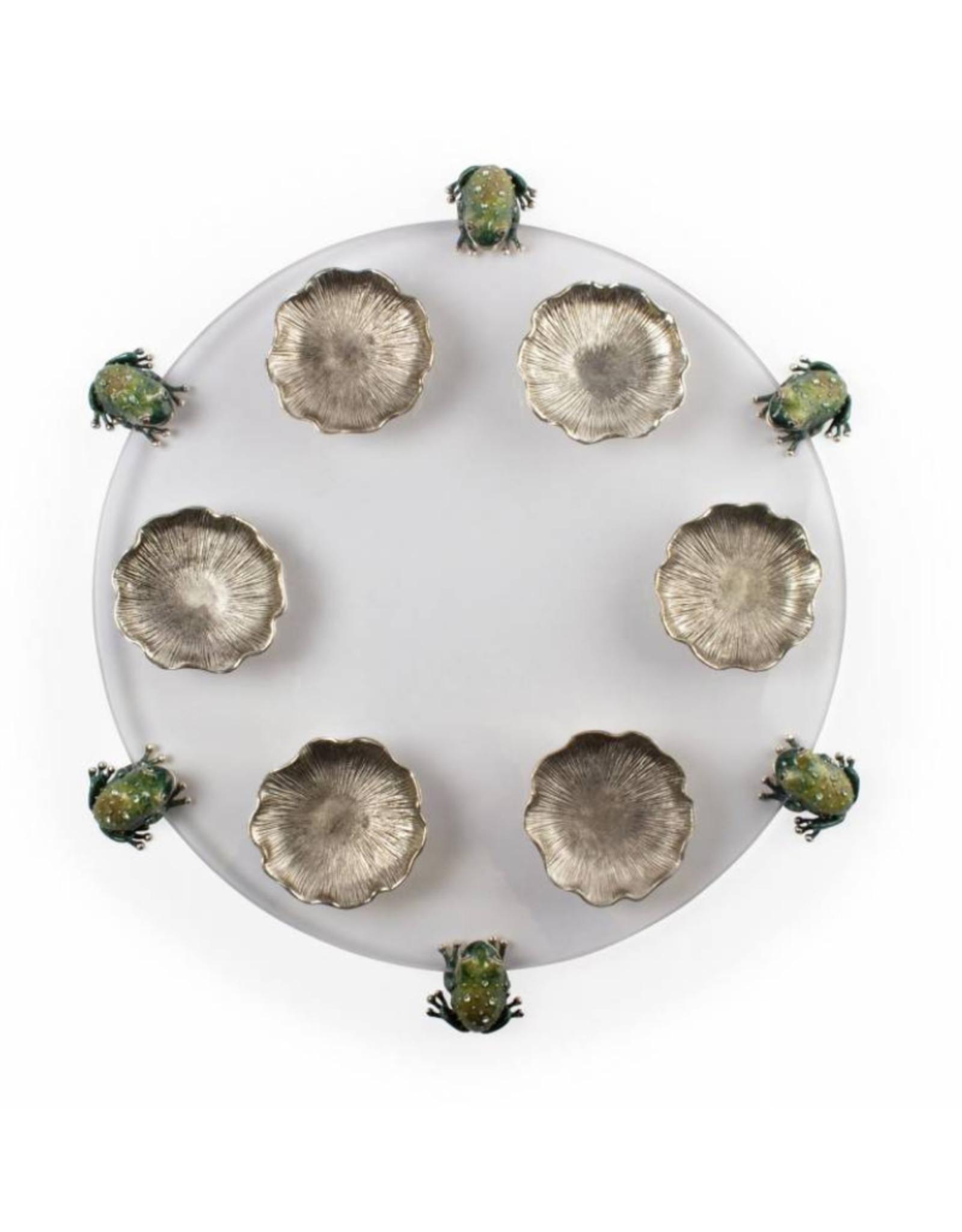 Frog Seder Plate