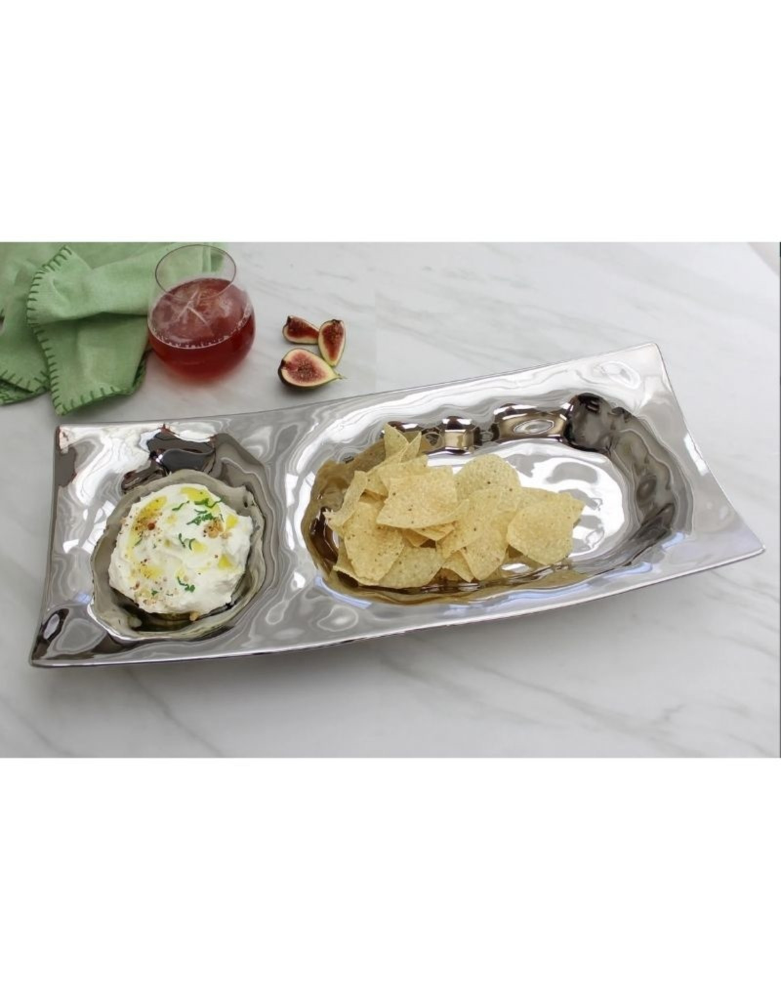 Pampa Bay Chip and Dip- Silver