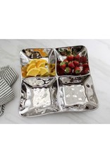 Pampa Bay 4 Section Square Server-Silver