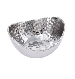 Pampa Bay Small Oval Bowl- Silver