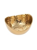 Small Oval Bowl-Gold