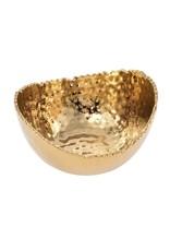 Pampa Bay Small Oval Bowl-Gold