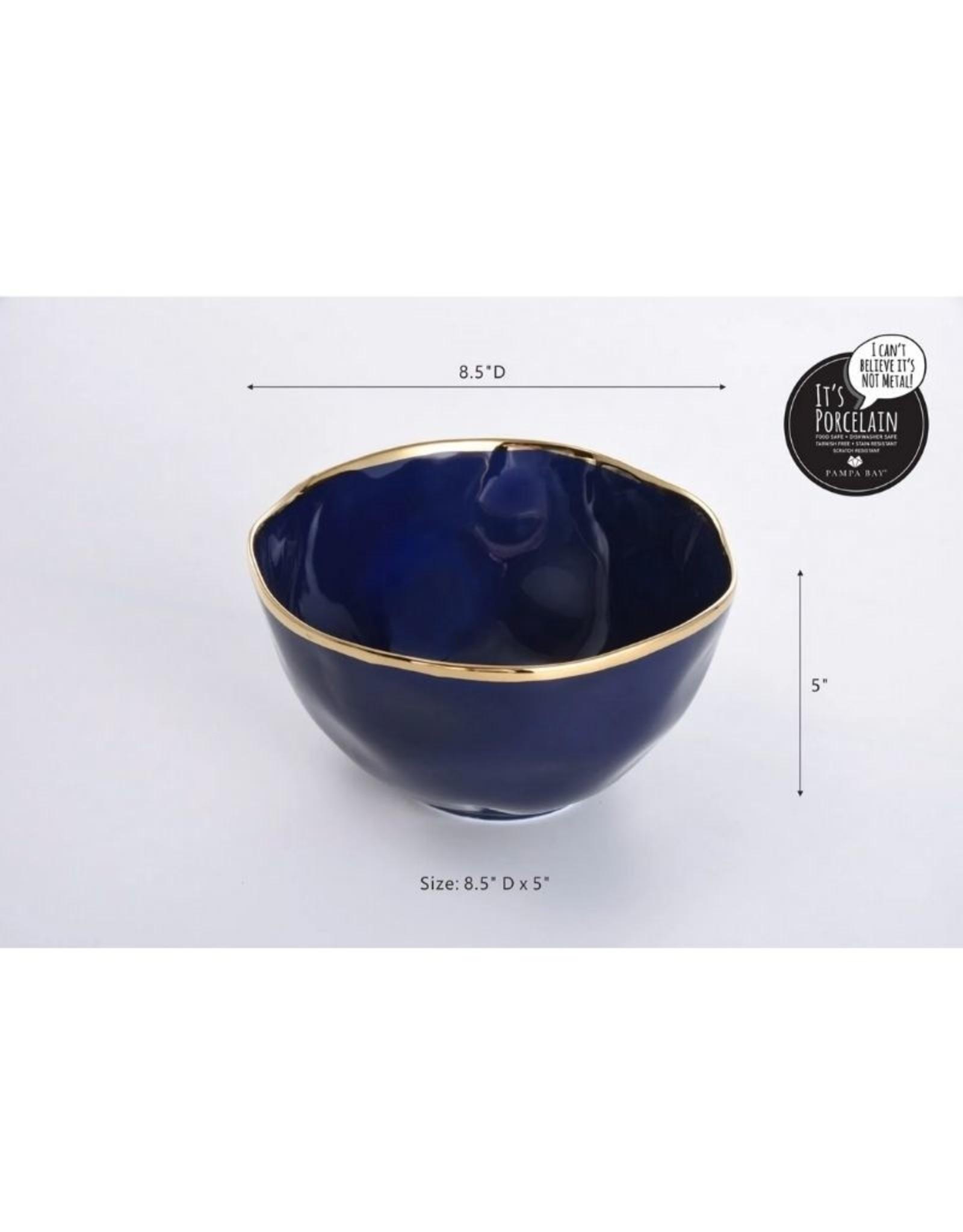 Pampa Bay Large Bowl- BLUE