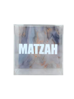 Acrylic Matzah Box With Hinged Top (Assorted Colors)