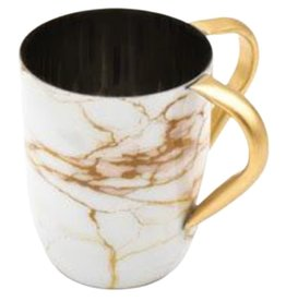 Godinger White Gold Marble Washing Cup