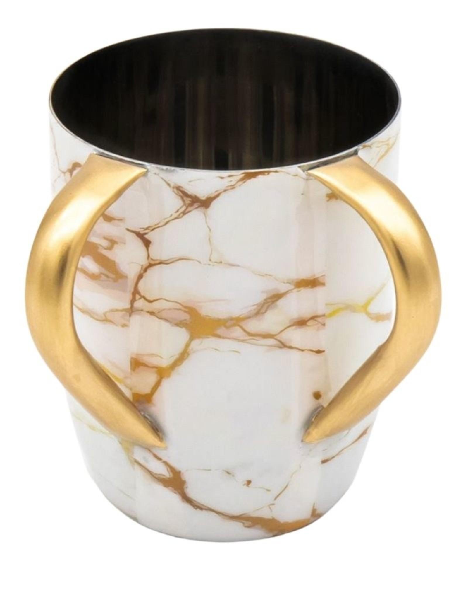 Godinger White Gold Marble Washing Cup