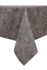 Jacquard Tablecloth Metallic Swirl Champagne/Silver #1211