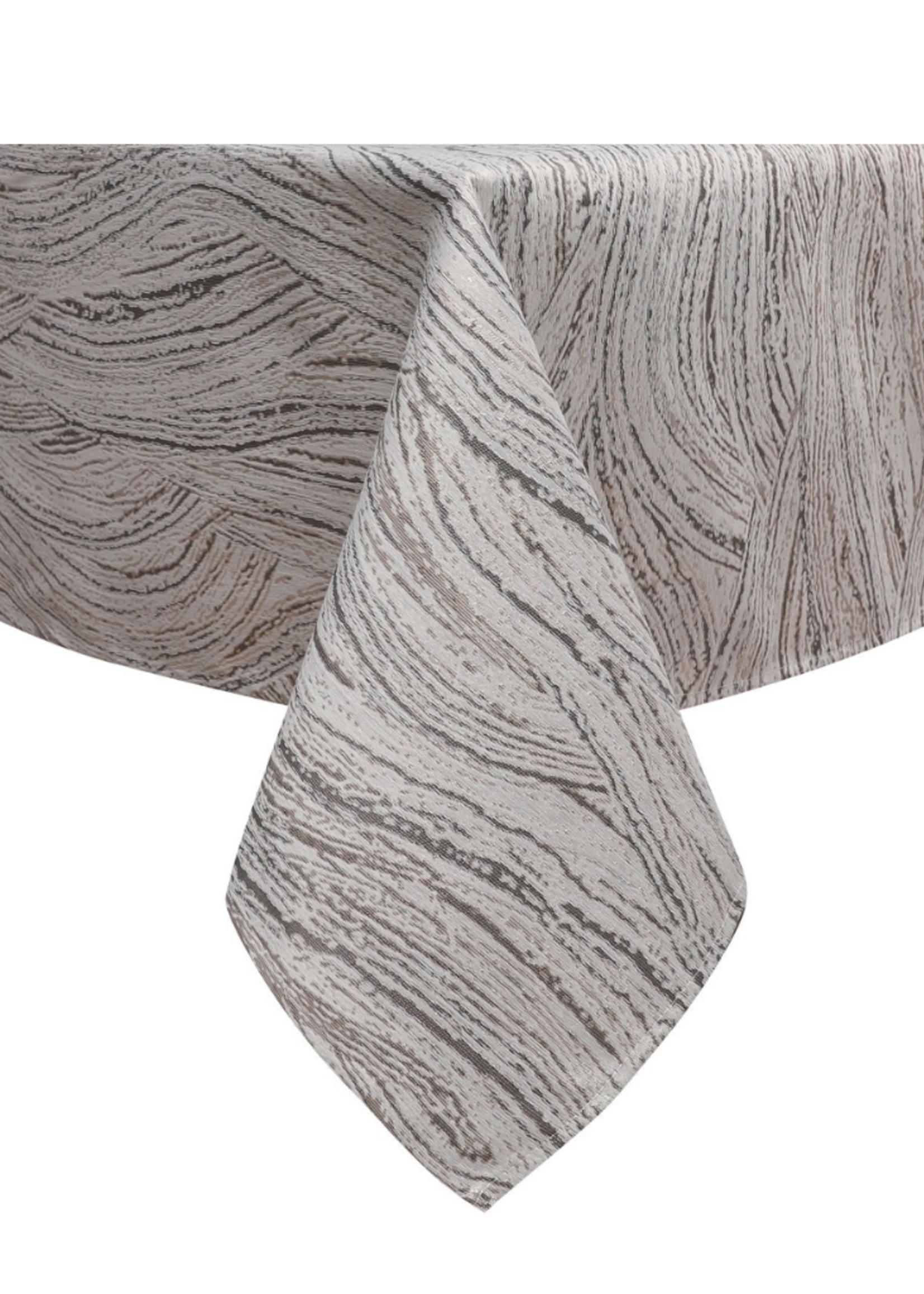 Jacquard Tablecloth Beige/Bronze #1213