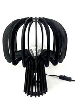 Sardegna Wood Table Lamp / Black