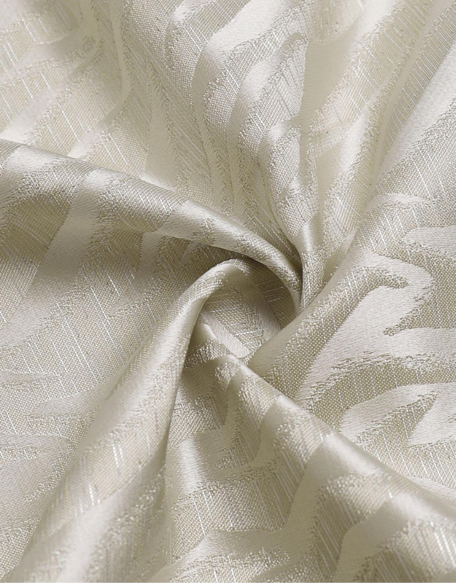 Jacquard Tablecloth Zebra Ivory #1219