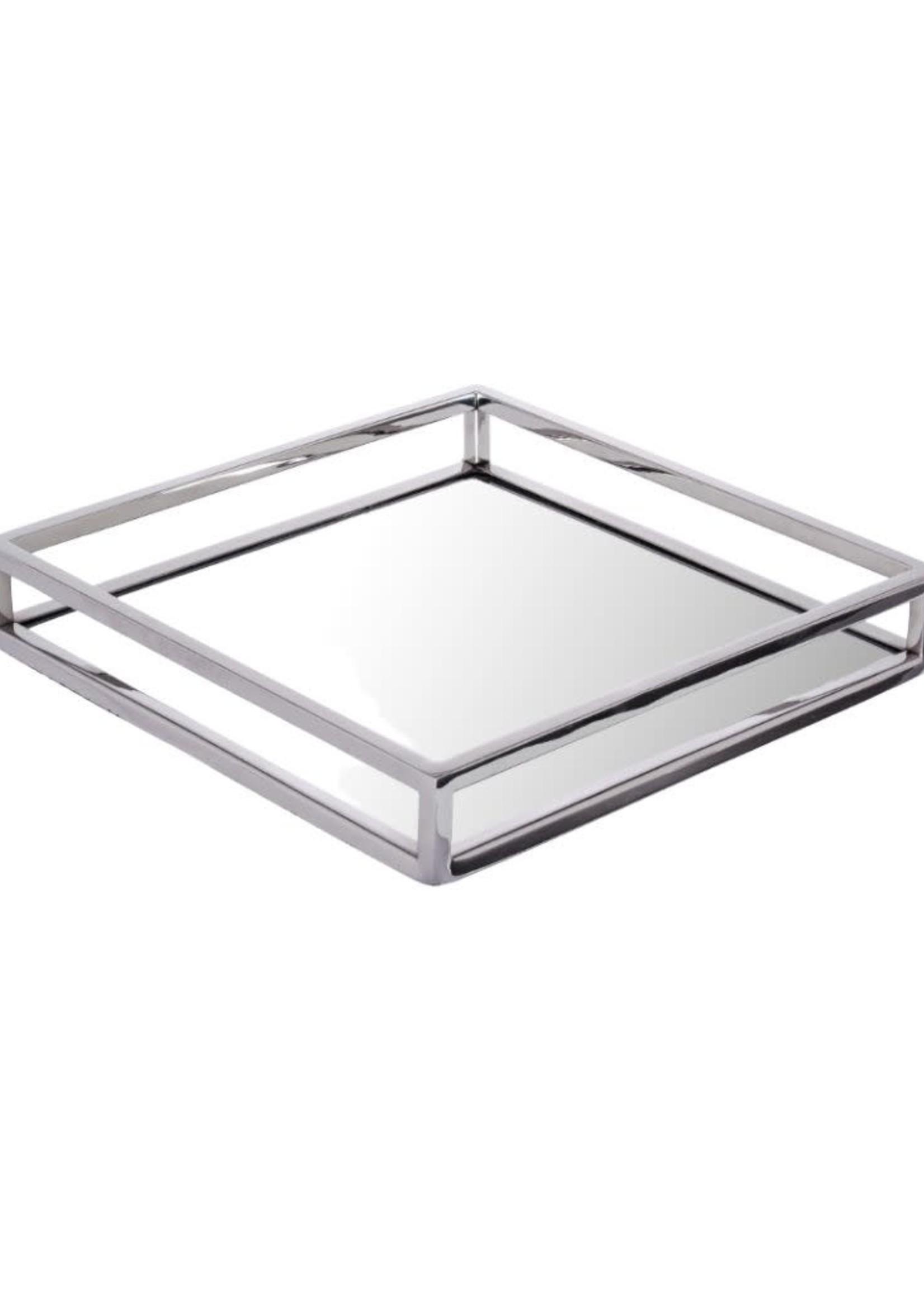 Square Mirror Tray