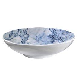 Blue Marble Round 12 inch Round Serving Bowl