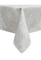 Jacquard Tablecloth Ivory Swirl #1227