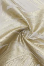 Jacquard Tablecloth Gold Swirl #1228
