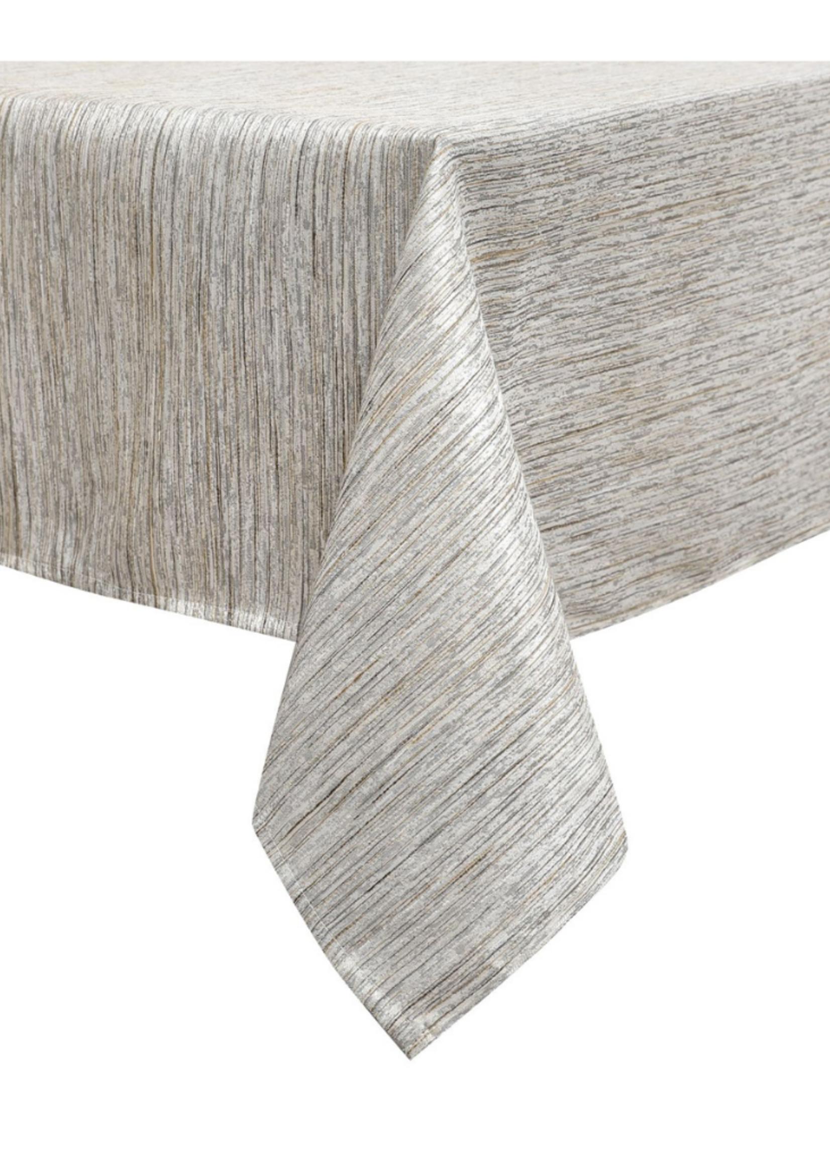 Jacquard Tablecloth Metallic Lines #1231