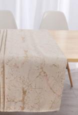 Jacquard Tablecloth Crackled Warm Metallics #1233