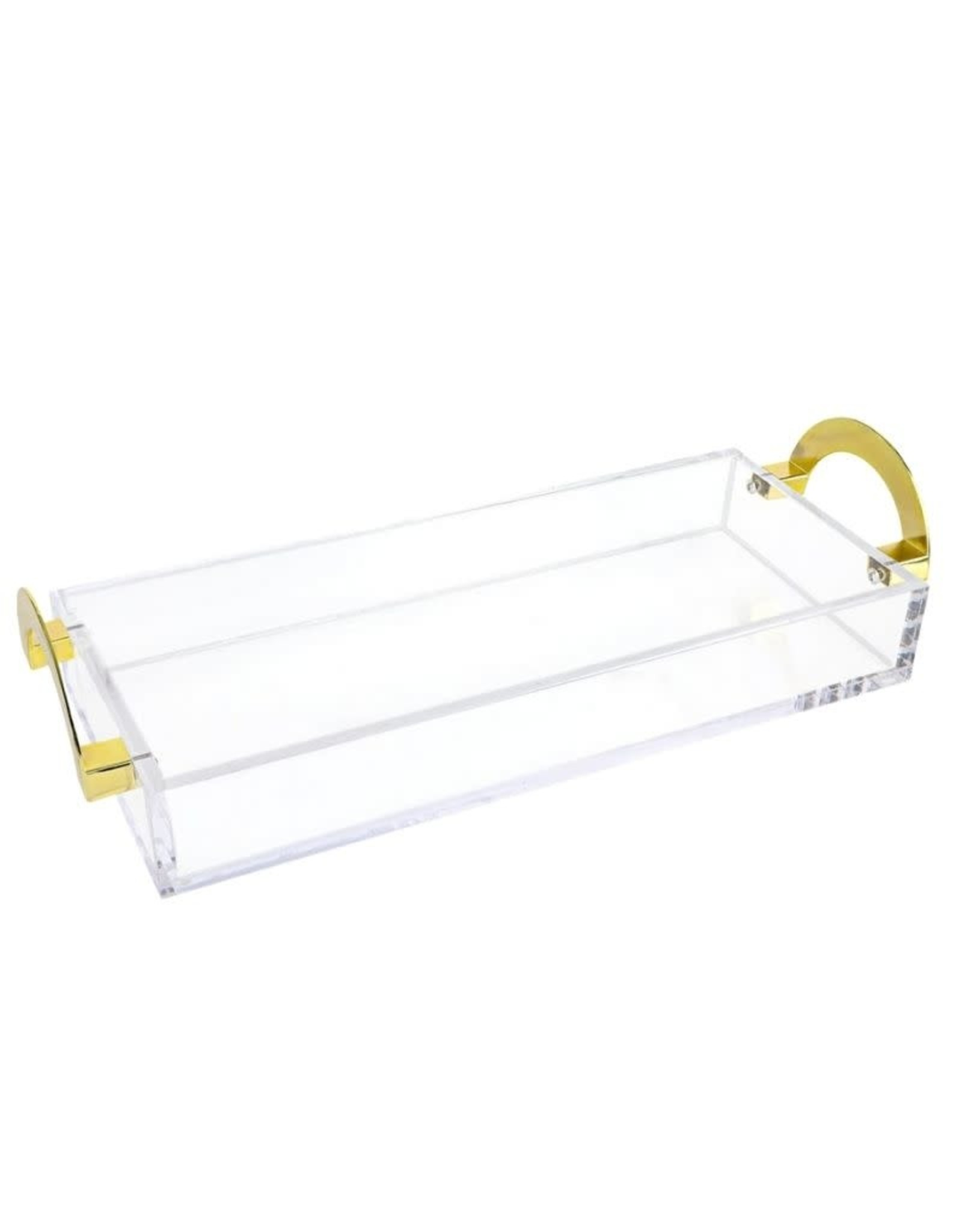 LUX Bread Tray With Gold Handles