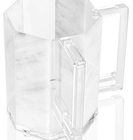 Waterdale Hexagon Washing Cup Marble